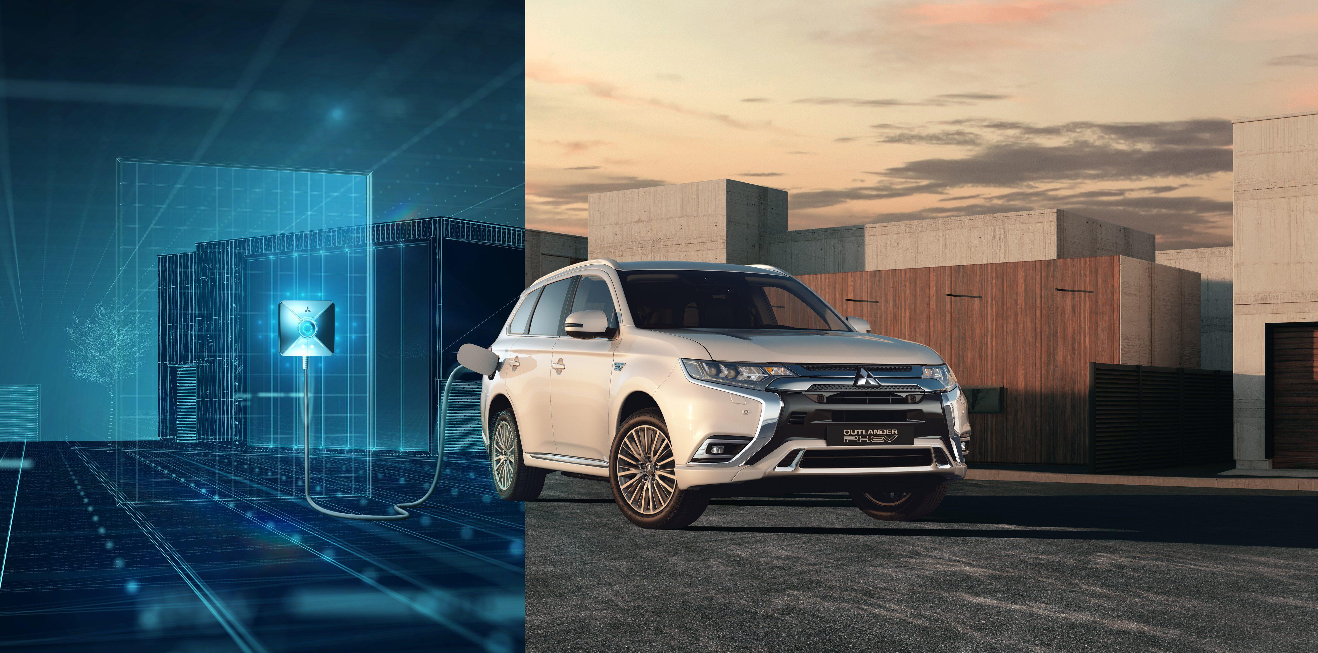 Gratis Laden Met Nieuwe Mitsubishi Outlander Phev Jan Snel